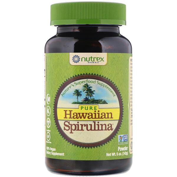 Pure Hawaiian Spirulina, порошок, 142 г (5 унций)