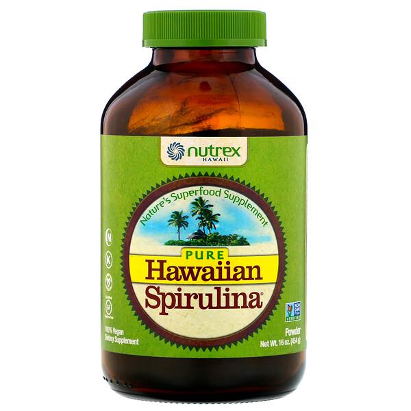 Pure Hawaiian Spirulina, порошок спирулины, 454г (16унций)