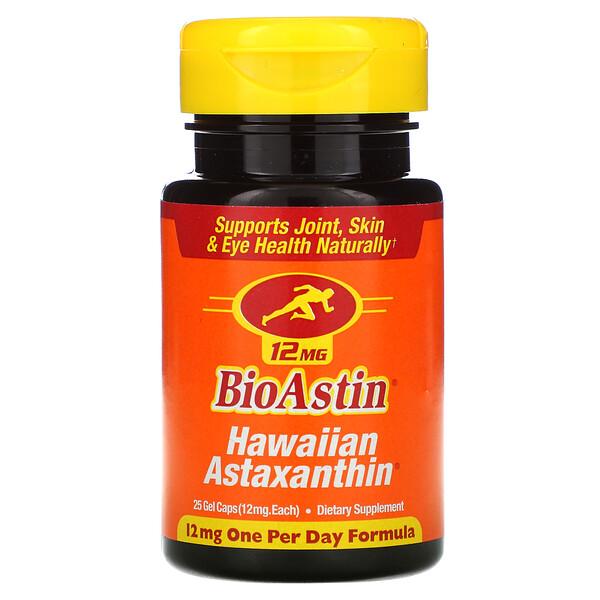 BioAstin, 12 мг, 25 гелевых капсул