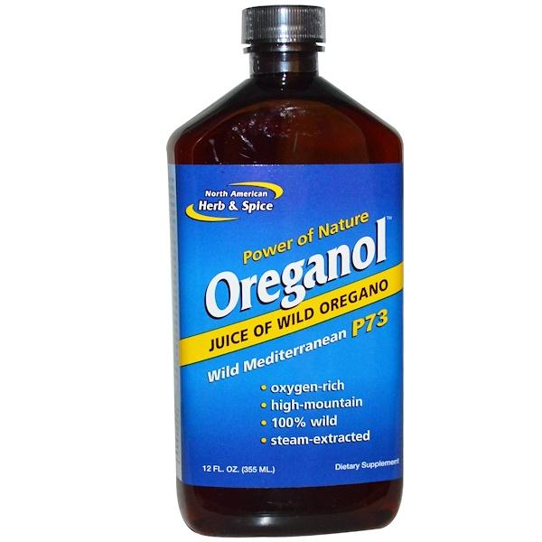 Ореганол P73, сок дикой душицы, 12 жидких унций (355 мл)