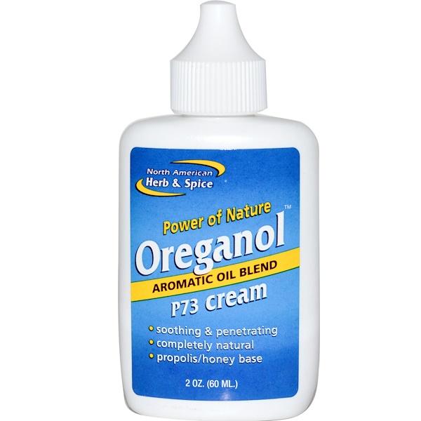 North American Herb & Spice, Ореганол, крем P73, 2 унции (60 мл) (Discontinued Item)
