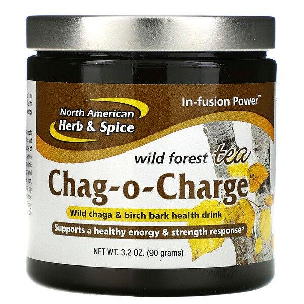 North American Herb & Spice, Chag-O-Charge, лесной чай, 3.2 унций (90 г)