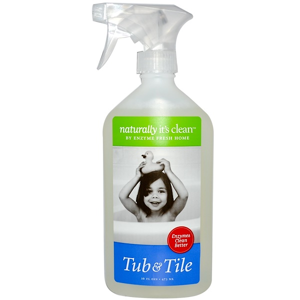 Naturally It's Clean, Tub and Tile Cleaner, 16 fl oz (473 ml) (Discontinued Item)