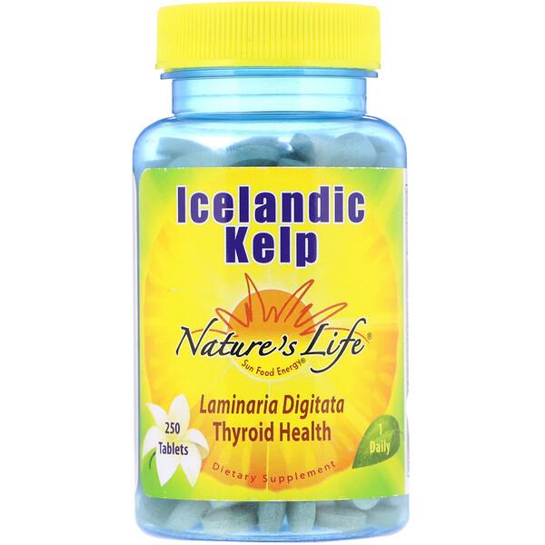 Исландская бурая водоросль, 250 таблеток