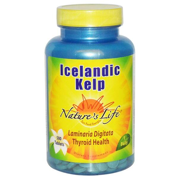 Icelandic Kelp (Исландские бурые водоросли), 500 таблеток