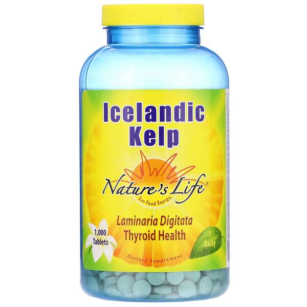 Icelandic Kelp, 1,000 Tablets