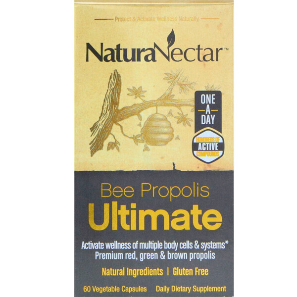 Bee Propolis Ultimate, 60 вегетарианских капсул
