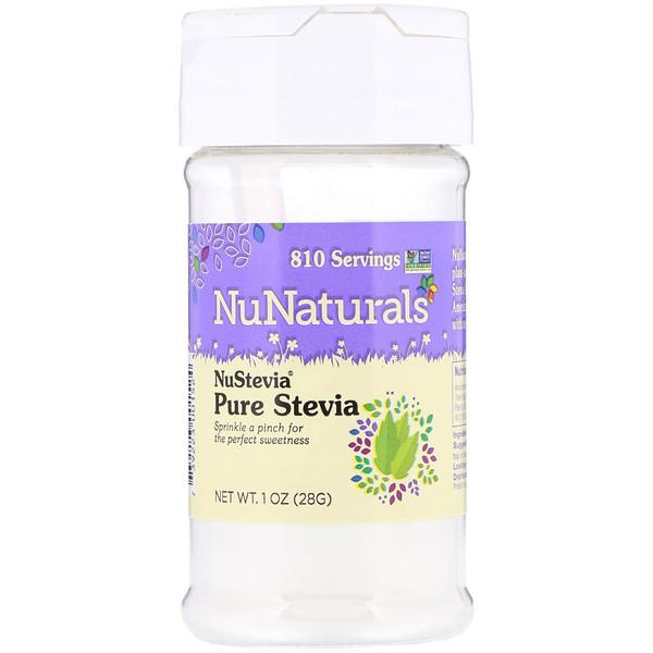 NuStevia, Pure Stevia, 1 oz (28 g)
