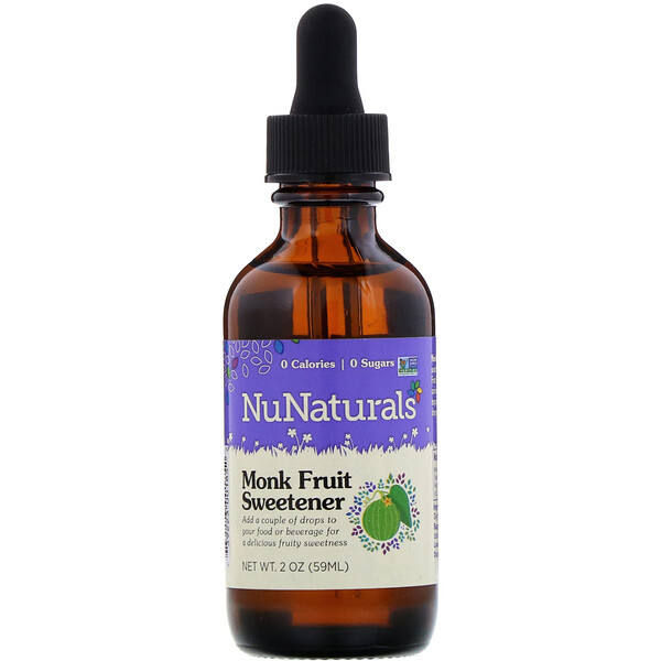 Monk Fruit Sweetener, 2 oz (59 ml)