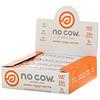 No Cow, Протеиновый батончик, кусочки арахисовой пасты, 12батончиков по 60г (2,12унции)