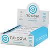 No Cow, Протеиновый батончик, ваниль и карамель, 12батончиков по 60г (2,12унции)