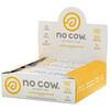 No Cow, Протеиновый батончик, лимонный пирог с безе, 12батончиков по 60г (2,12унции)