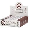 No Cow, Протеиновый батончик, брауни с шоколадной помадкой, 12батончиков по 60г (2,12унции)