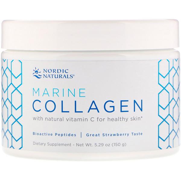 Marine Collagen, Strawberry, 5.29 oz (150 g)