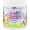 Nordic Naturals, Nordic Berries, мультивитаминные жевательные конфеты, оригинальный вкус, 120 ягод-жевательных конфет