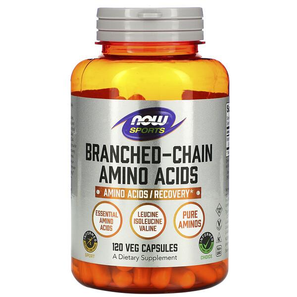 Питание для физической активности с содержанием аминокислот с разветвленной цепью, 120 капсул