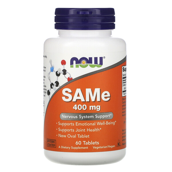 SAMe, 400 мг, 60 таблеток