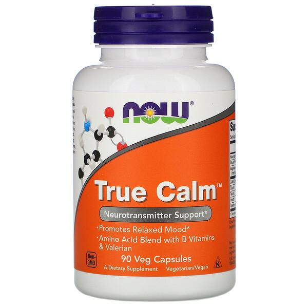 True Calm, 90 растительных капсул