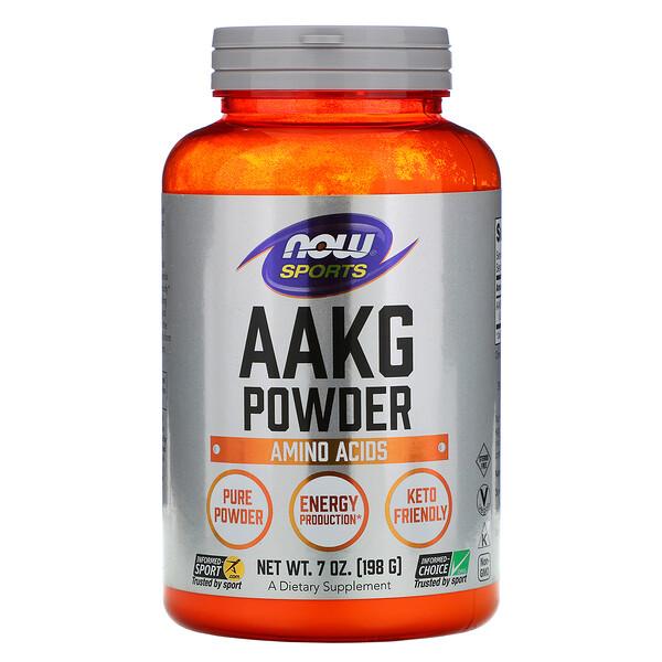 добавка для поддержки физической активности, чистый порошок аргинин альфа-кетоглутарата (ААКГ), 198г (7унций)