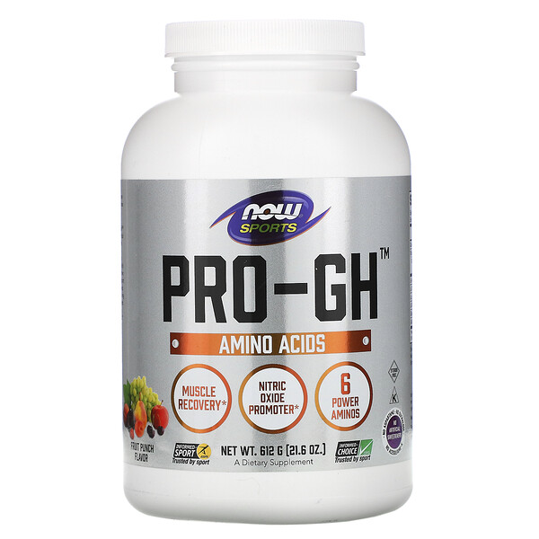 Sports, Pro-GH, Fruit Punch, 21.6 oz (612 g)