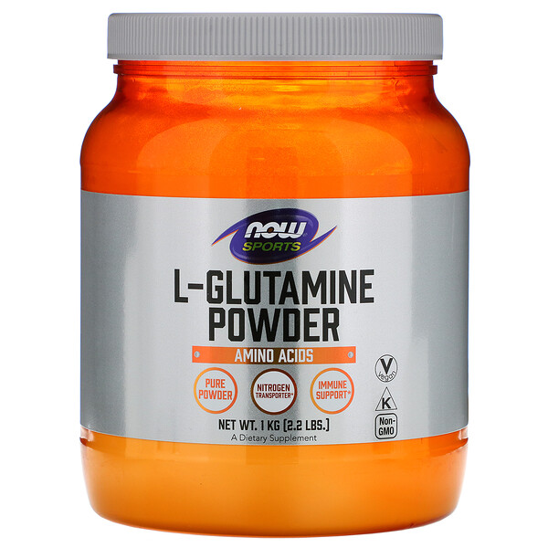 Sports, L-Glutamine Powder, 2,2 фунта (1 кг)