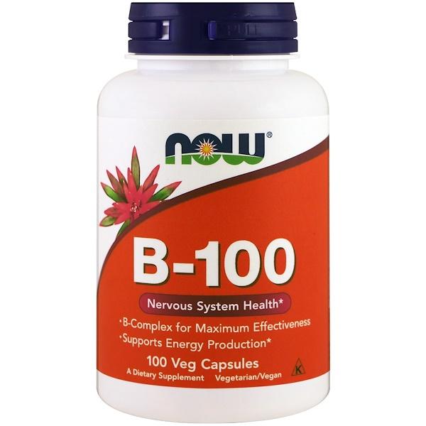 B-100, 100 веганских капсул