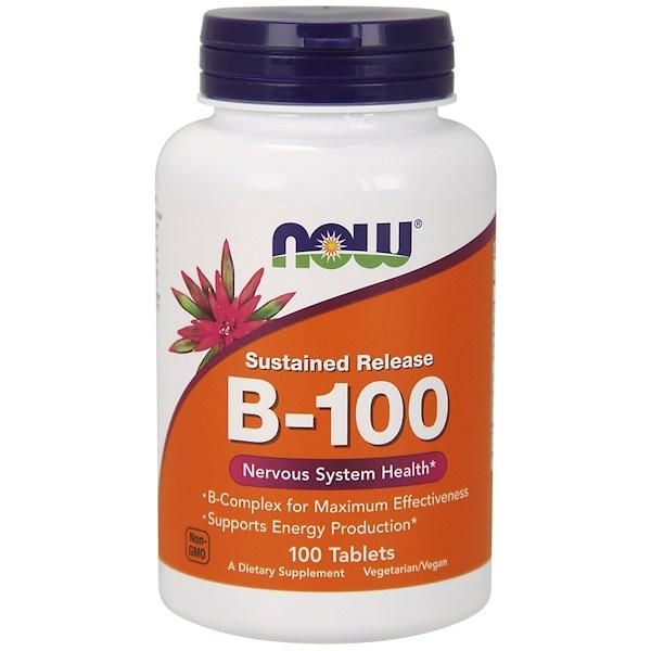 B-100, с замедленным высвобождением, 100 таблеток