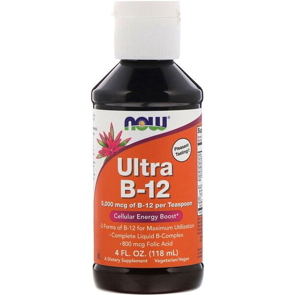 Ультра В-12, 5000 мкг, 118 мл (4 жидк.унции)