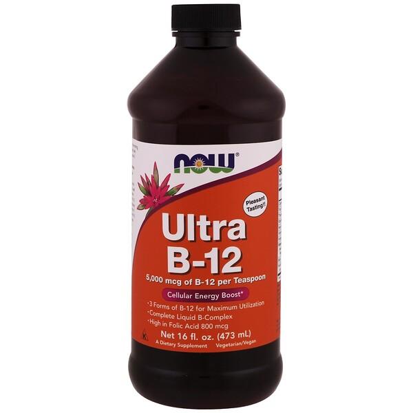 Ultra B-12, 16 жидких унций (473 мл)