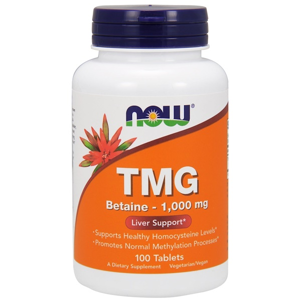 TMG, 1000 мг, 100 таблеток