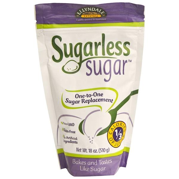 Now Foods, Сахар без сахара, 18 унций (510 г) (Discontinued Item)