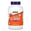 Now Foods, Витамин С «Жевательный C-500» со вкусом апельсинового сока, 100 таблеток