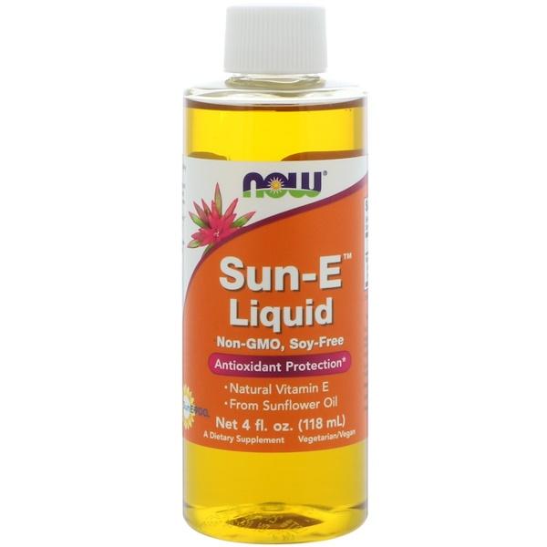 Now Foods, Жидкость Sun-E, 118мл (4жидк.унции)