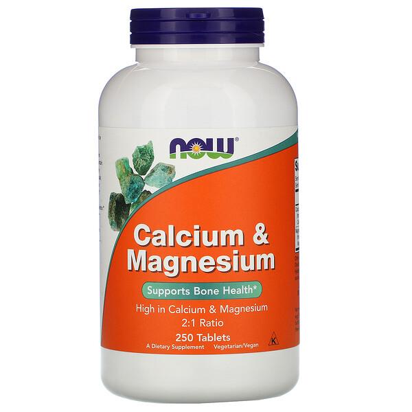 Кальций и магний, 250 таблеток