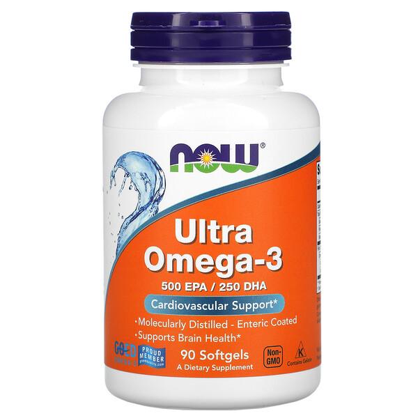 Ultra Omega-3, 90 Softgels