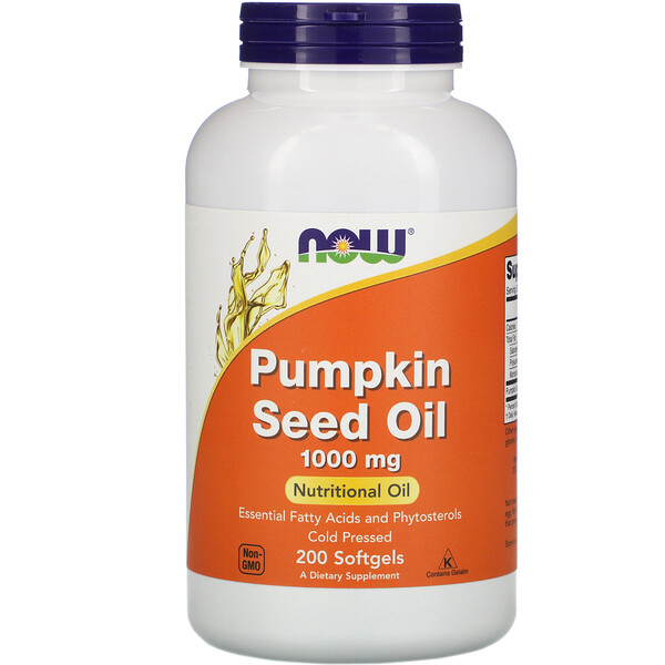 Pumpkin Seed Oil, 1,000 mg, 200 Softgels