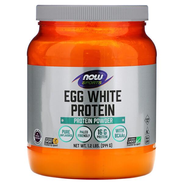 Sports, Egg White Protein, Protein Powder, 1.2 lbs (544 g)