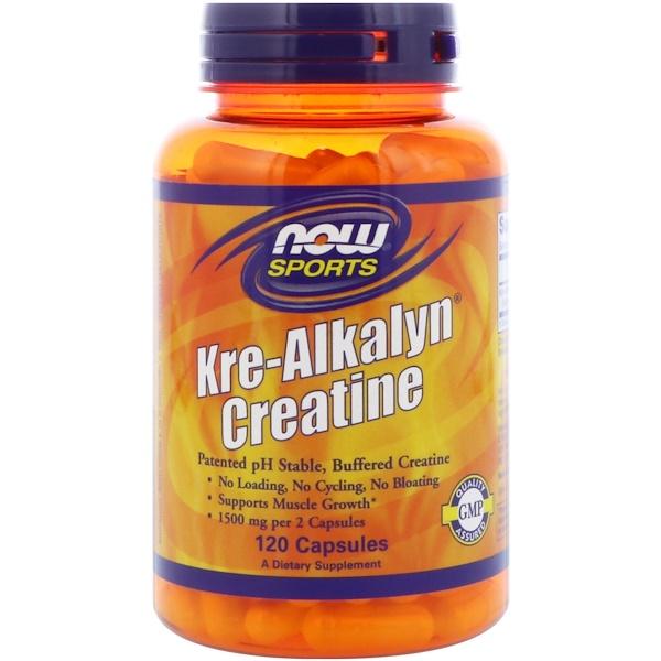 Sports, Kre-Alkalyn Creatine (креалкалин креатин), 120 капсул