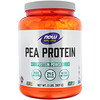 Now Foods, Спортивная серия, гороховый протеин, без добавок, 907г