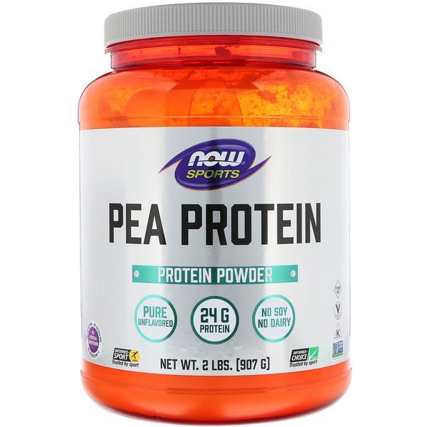Спортивная серия, гороховый протеин, без добавок, 907г