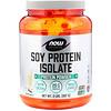 Now Foods, Sports, изолят соевого белка со вкусом сливочной ванили, 907 г (2 фунта)