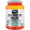 Now Foods, Sports, изолят соевого белка, кремовый шоколад, 907г (2фунта)