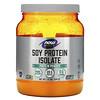 Now Foods, Sports, изолят соевого белка, натуральный без вкуса, 544 г (1,2 фунта)