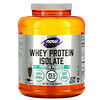 Now Foods, Sports, изолят сывороточного протеина, кремовый шоколад, 2268г