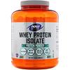 Now Foods, Sports, Whey Protein Isolate, без ароматизаторов, 5 фунтов (2268 г)