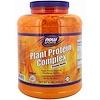 Now Foods, Sports, комплекс растительного протеина, кремовая ваниль, 2722г (6 фунтов)