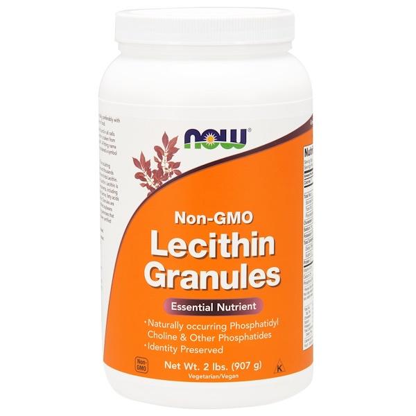 Гранулы лецитина, Без ГМО, 2 фунта (907 г)