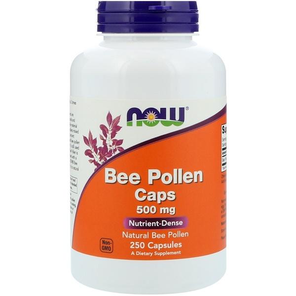 Капсулы с пчелиной пыльцой, 500 мг, 250 капсул