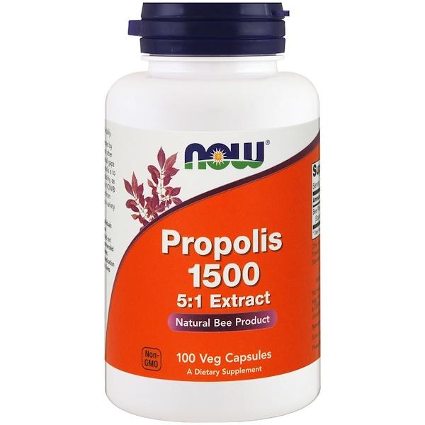 Прополис 1500, 100 растительных капсул