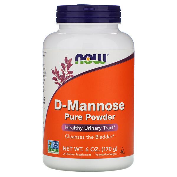 Чистая D-манноза в порошке, 6 унций (170 г)